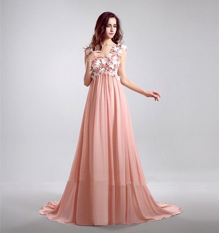 ₪Partido Libre del baile vestidos largos vestidos de noche tk615 v ...