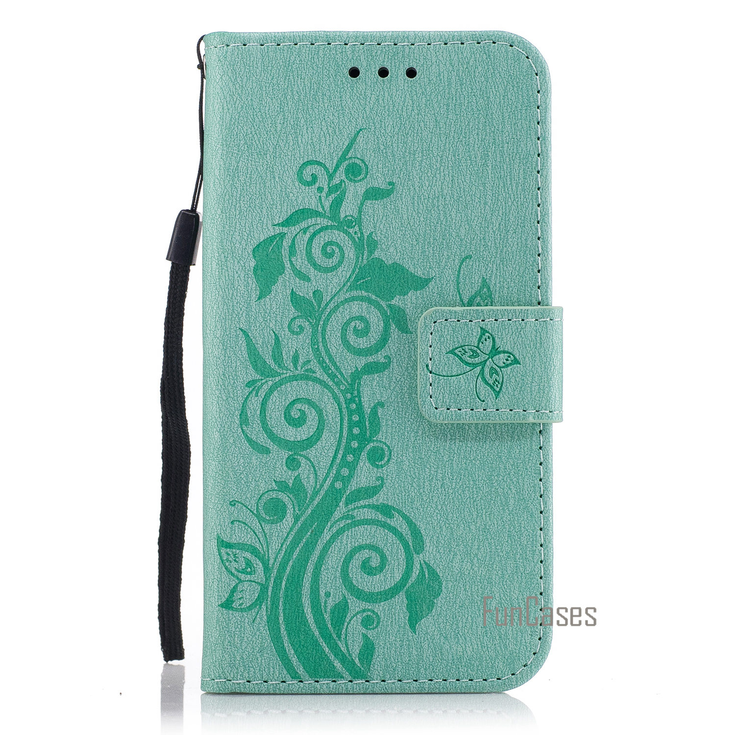 Cartoon Flower Butterfly Bear Tree Cute Back Cover PU Leather case Mobile Phone Case For ...