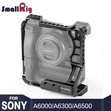 SmallRig A6400 клетка DSLR камера клетка для sony A6000/A6300/A6400/A6500 С Meike MK-A6300/A6500 батарейный блок 2268