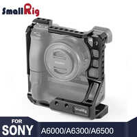SmallRig A6400 Käfig DSLR Kamera Käfig für Sony A6000/A6300/A6400/A6500 mit Meike MK-A6300/A6500 batterie Grip 2268