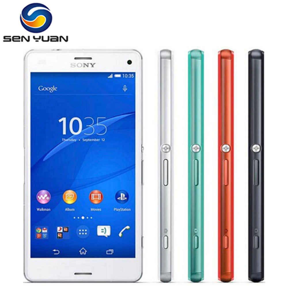 "Original  Sony Xperia Z3 Compact D5803 GSM 4G LTE Android Cell Phone Quad-Core 2GB RAM 16GB ROM 4.6"" WIFI GPS 2600mAh Battery"