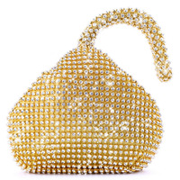 Hot Triangle Full Rhinestones Women S Evening Clutch Bag Party Prom Wedding Purse Fashion Hot Selling