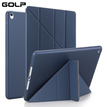 PU Leather Case For iPad Pro 10.5 inch 2019 Smart Cover Air 3 Soft Silicone for ipad 2 1