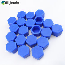 20x Universal 19mm Silicone Hexagon Wheel Nut Bolt Cover for Geely Vision SC7 MK CK Cross Gleagle SC7 Englon SC3 SC5 SC6 SC7 Pan(China)