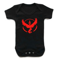 New Fashion Summer Infant Clothing Pokemon Go Romper Baby Boy Girl Jumpsuit Newborn Clothes For Baby