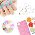 Cute Mixed Glitter 3D Nail Art Tip Stud Decoration Stickers DIY Accessories Drop Shipping Wholesale Fashion Beauty