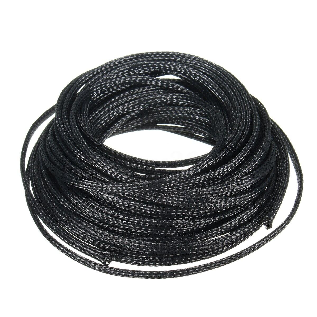 Erweiterbar HAUSTIER Geflochtene Kabel Schutz Ärmel Flexible ...