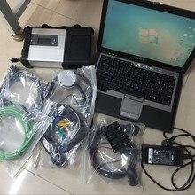 Mb star c5 диагностический сканер с ноутбуком d630 ram 4g hdd 320gb программное обеспечение,12 windows 7 готов к использованию