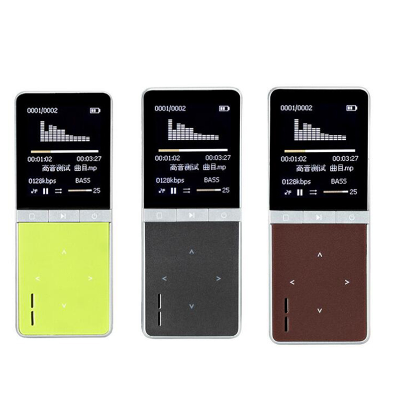 ONN W7 Sports Speaker MP3 Music Player 8GB with Voice Recorder Touch Screen high quality Subwoofer