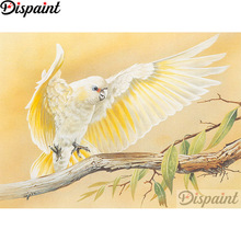 Dispaint Full Square/Round Drill 5D DIY Diamond Painting Animal bird scenery 3D Embroidery Cross Stitch Home Decor Gift A12318 dispaint full square round drill 5d diy diamond painting teacup bird scenery 3d embroidery cross stitch 5d home decor a18408