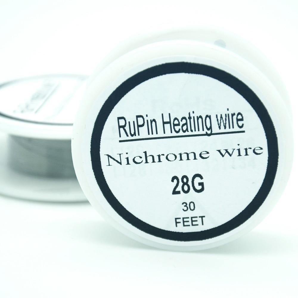RuPin Heizung Wrie nichromdraht 32 Gauge 10 meter 0,2mm Widerstand ...