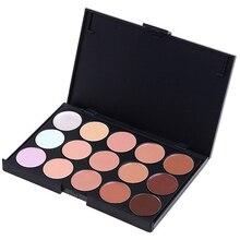 Profesional 15 color corrector pro corrector con contorno Fundación corrector de maquillaje de moda paleta resaltador