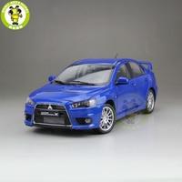 1/18 Lancer EVO X EVO X 10 Left Steering Wheel Diecast Metal Car Model Toy Boy Girl Gift Blue