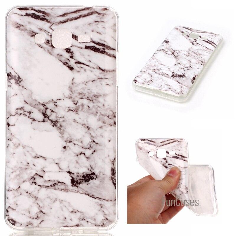 Étuis de téléphone pour Samsung Galaxy Grand Prime G530 étui en marbre pierre image peint couverture sacs de téléphone portable et étui pour Samsung ...