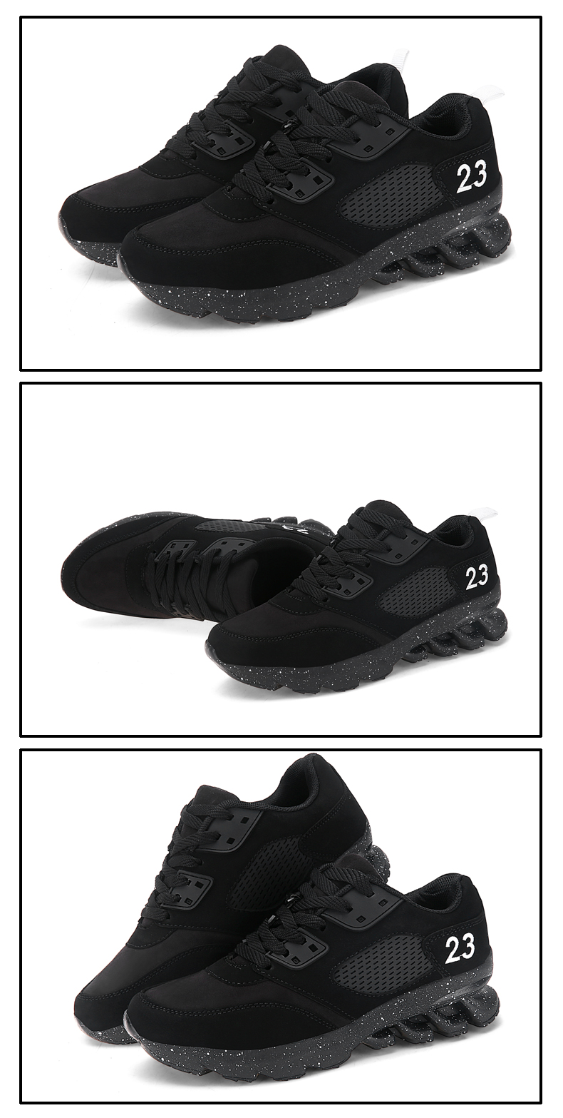 17 New Womens and Girl Brand cheap Running Shoes Outdoor Breathable Athletic Jogging Sneakers student Sport Blade Shoes black 8