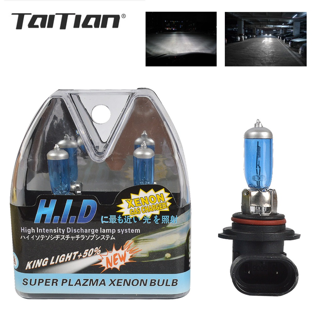 Taitian 2Pcs 55W 65W 6000K 12V fog lamp H3 bulb front Headlight car halogen H11 fog light auto lights bulbs Automotive Lighting 12v 55w h3 halogen bulbs warm white metal clear glass fog light projector lens h3 fog lights for car auto fog lamp headlight