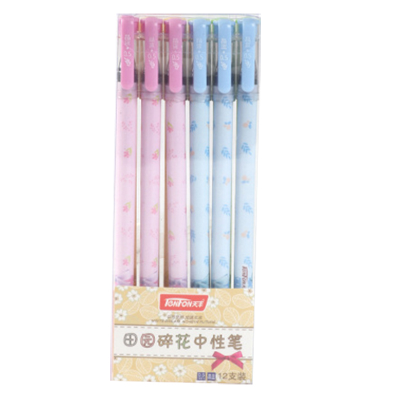 NEW TENFON G-3125 0.5MM pen, pink & blue & green & yellow ppyy new tenfon g 3125 0 5mm pen pink