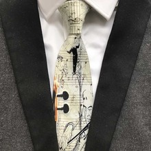 Music Themed Ties For Concert Party