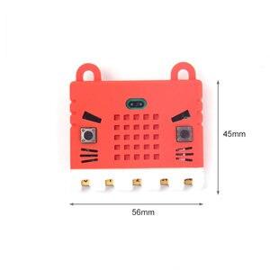 Image 3 - Elecrow bbc micro: bit placa de programação diy módulo makecode com kittenbot microbit capa protetora silicone colorido escudo
