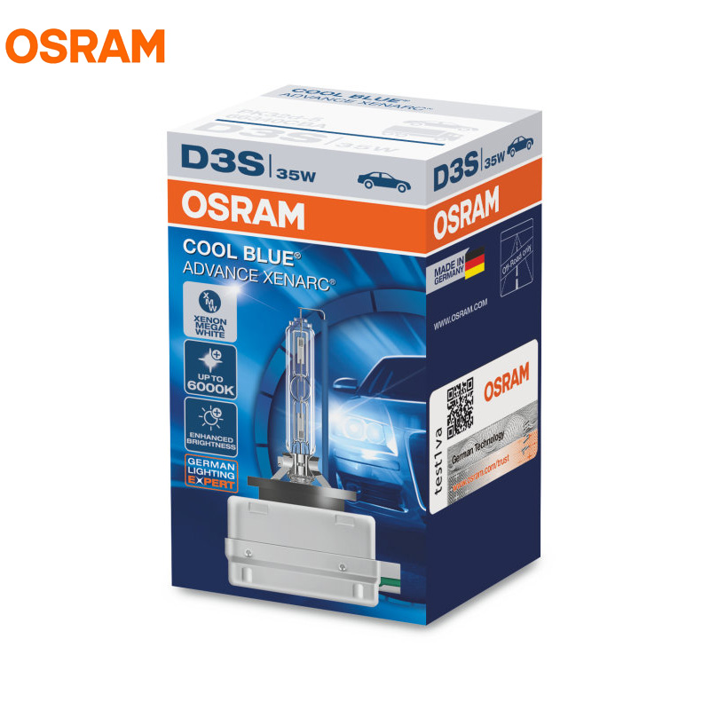 XENARC OSRAM COOL BLUE ADVANCE 35W 6000K D1S D2S D3S D4S 66140 66240 66340 66440 CBA Xenon Mega Pure White Headlight Auto Bulb osram d3s 35w 66340 66340hbi 4200k xenarc original spare part hid oem bulb germany oem xenon white car headlight for audi ford