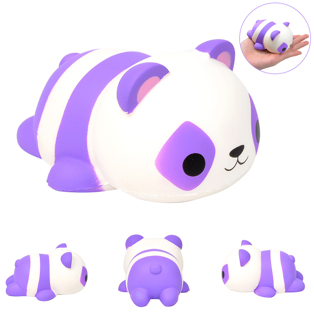 Selling Slow Rebound Decompression Venting Toy Cute Simulation Panda Toy Squishies Quash Antistress Games Anti-stress W514