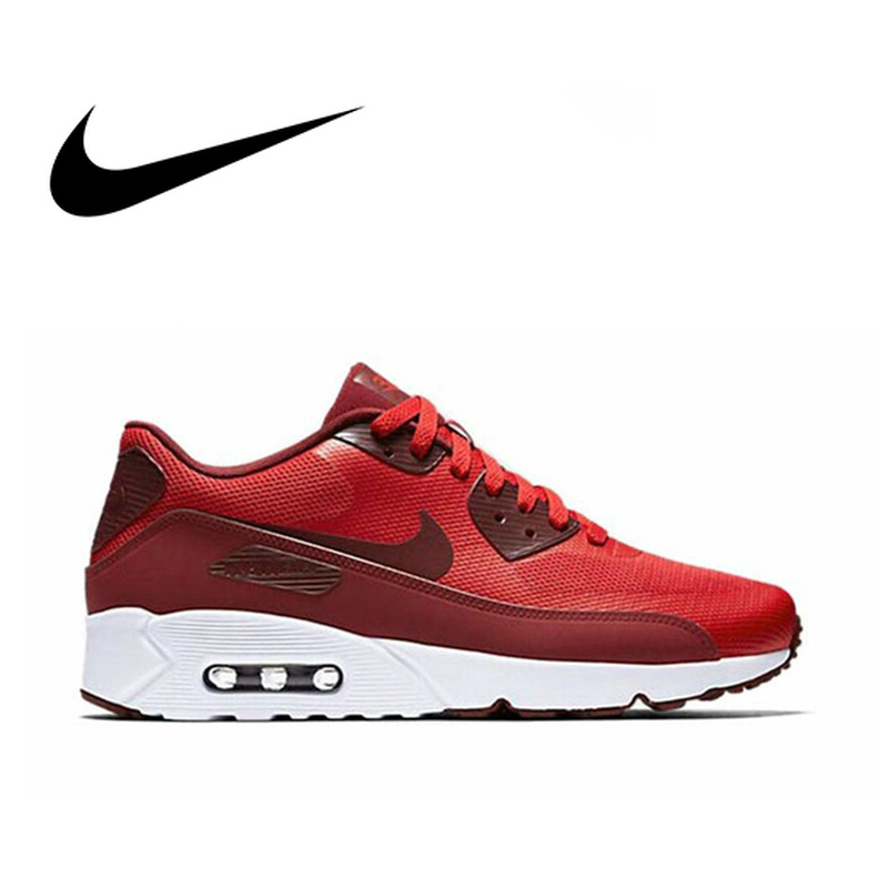 newest e006a 554d9 NIKE AIR MAX 90 Original Authentic Men s ESSENTIAL Running Shoes Sport  Outdoor Sneakers Comfortable Durable Breathable 537384