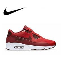 Официальный Оригинальная продукция Nike AIR MAX 90 ULTRA 2,0 для мужчин дышащие кроссовки спортивная обувь Limited классический открытый досуг спортивная 875695