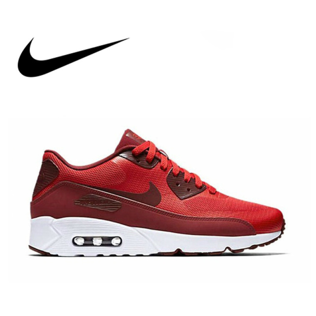 timeless design edf5a 90419 US $43.22 58% OFF|Official Original NIKE AIR MAX 90 ULTRA 2.0 Men's  Breathable Running Shoes Sneakers Limited Classic Outdoor Leisure Sport  875695-in ...