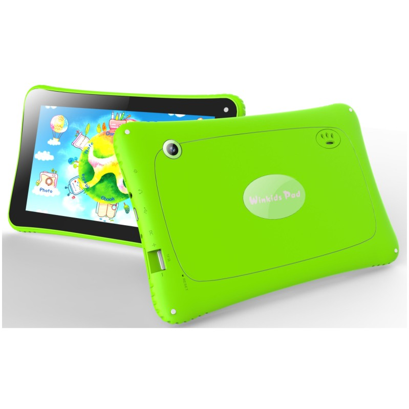 Envío libre Android 7 Pulgadas Niños Tablets pc WiFi Quad core de doble Cámara d