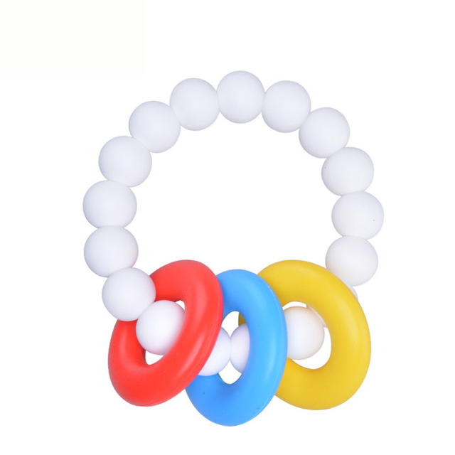 Safe And Harmless Chewy Bracelet Chewelry Autism Adhd Biting Sensory Chew Teething Fidget Toy For Children