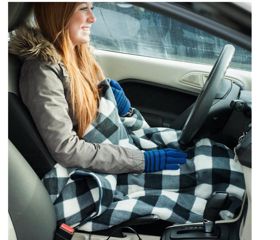 150*110 автомобилей сиденья горячую поддержку в автомобиля 12V с подогревом Подушка безопасности тела подогреватель подушки сиденья со 100% флис