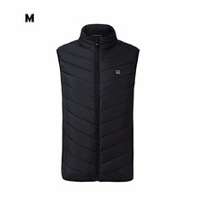 75fa2a6bd18 2019 New Men Women Electric Heated Vest Heating Waistcoat USB Heater  Thermal Warm Carbon Fiber Feather