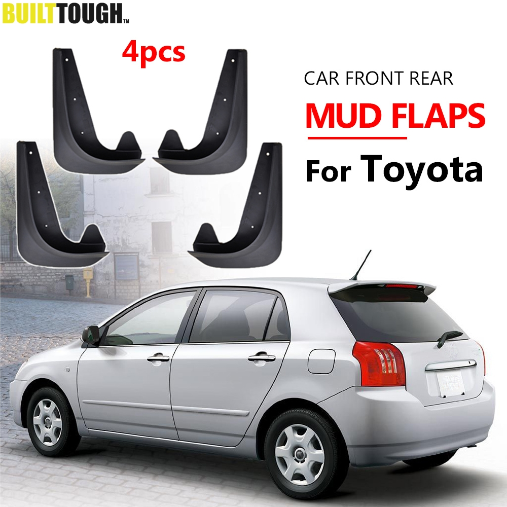 Universal Mudflaps Mud Flaps Flap Splash Guards Mudguards For Toyota Auris Avensis Aygo Camry CH R Corolla IQ Picnic RAV4 Yaris-in Mudguards from Automobiles & Motorcycles