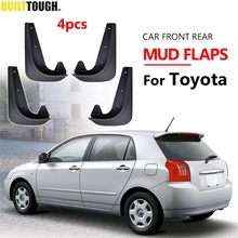Universal Mudflaps Mud Flaps Flap Splash Guards Mudguards For Toyota Auris Avensis Aygo Camry CH R Corolla IQ Picnic RAV4 Yaris