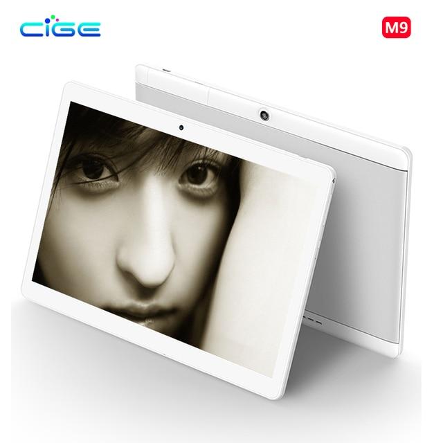 CIGE 10.1 inch Original 4G Tablet Pc Phone Call Dual SIM card Android 6.0 1920x1200 Octa Core Tablets pcs 64B Wifi Bluetooth 10