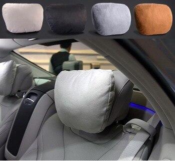 2 шт. Maybach дизайн S класс автомобиля шеи сиденье мягкая подушка бренд подголовник Чехлы для Mercedes-Benz Bmw Audi Toyota Bentley Maserati >> LARATH OASATE Store