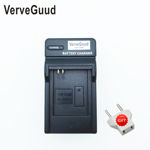 VerveGuud Battery Charger For samsung BP70A BP-70A PL80 PL90 SL50 SL600 SL605 SL630 PL120 PL170 PL20 PL200 ES74 ES75 ES80 MV800(China)