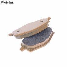 Wotefusi Front Brake Pads For Yamaha Contd. XT 225 YFZ 350 XT 350 TT 600 N 59X Frame [PA213]