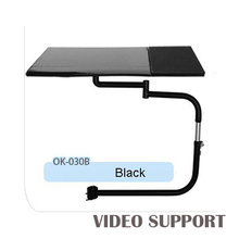 OK-030B Универсальный Полный движения стул зажима клавиатура Поддержка ноутбука держатель Мышь Pad для комфортного офиса и игр