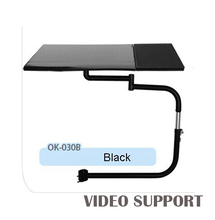 OK-030B Multifunctional Full Motion Chair Clamping Keyboard Support Laptop Holder Mouse Pad for Comfortable Office and Game
