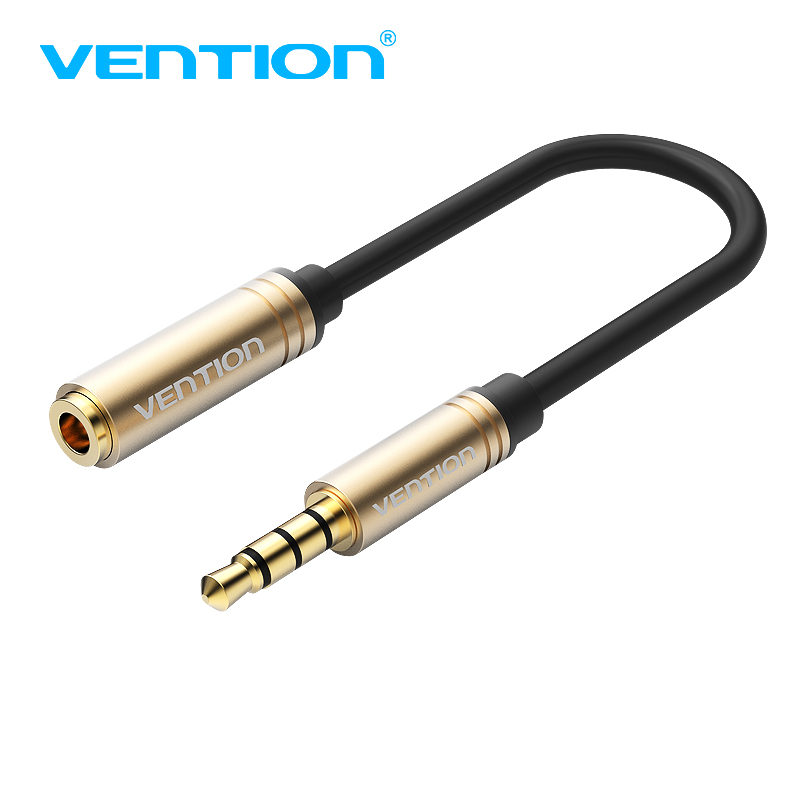 Vention Earphone Headphone Connector OMTP To CTIA Converter Cable Jack 3.5mm Female To Male Adapter For Samsung S8 IPhone 8 HTC