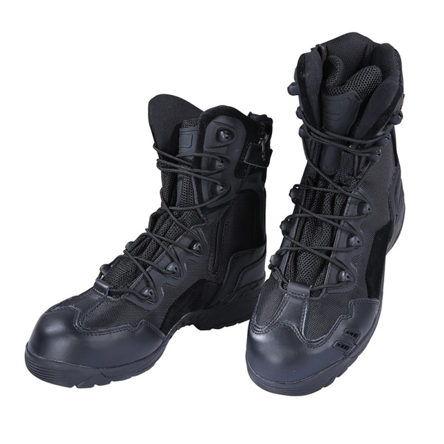 Hot US Army Tactical Comfort Leather Combat Military Ankle Boots Men Army Shoes Tactical boots
