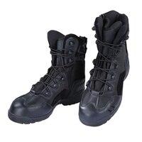 Hot us army tactical komfort skórzane bojowe wojskowe botki mężczyźni armia shoes buty taktyczne