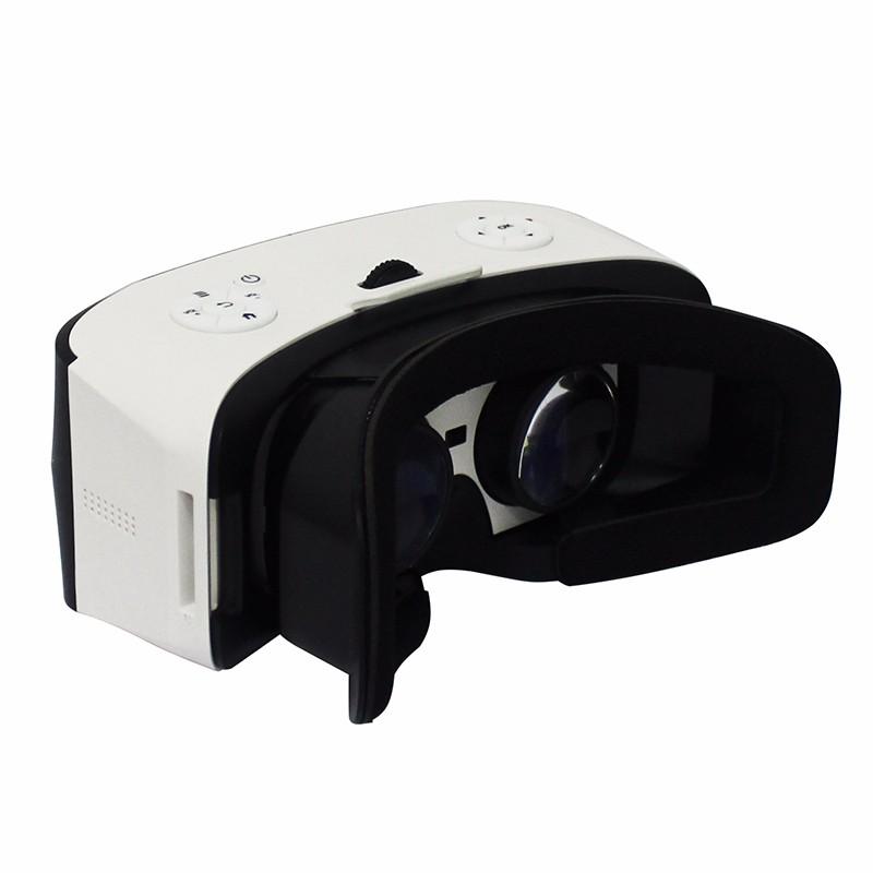 ถูก 2016ใหม่หลายสีมิติทั้งหมดในหนึ่งVRแว่นตากล่องที่มีAndroid Wifiสนับสนุนบลูทูธและ5.5นิ้วHD IPSแสดงVRชุดหูฟัง