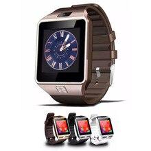 2017 Nuevo Reloj Inteligente dz09 con Cámara Tarjeta SIM Reloj de Pulsera Bluetooth Smartwatch para Android ios Móviles Dispositivos Portátiles