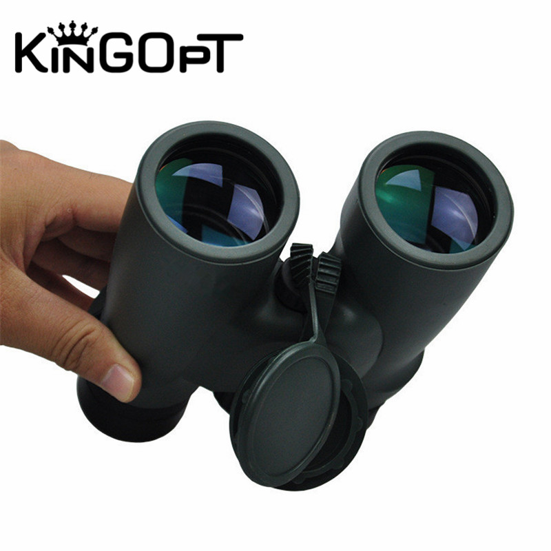KINGOPT 10x42 Nitrogen-filled Waterproof Professional Telescope Low Night Vision Binoculars for Hunting High Power Portable Tool high power portable binoculars telescope hunting telescope metal body waterproof ingress protection 4