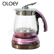 Multifunctional Electric Kettle Fully Automatic Glass Touch Timing Fast Boiling Intelligent Insulation Sensitive Food Grade Safe цена и фото