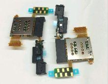 Crocaocro sim card reader слот держатель лотка flex кабель ремонт частей для sony xperia ion lt28i lt28 fc_sony_lt28i_simkapai