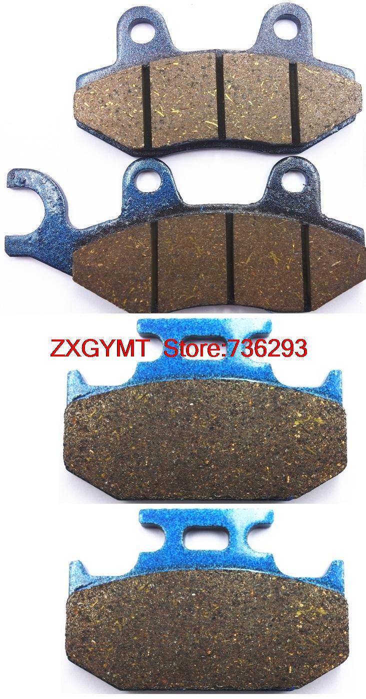 Off-road Semi-met Brake Pads Set fit for SUZUKI RMX250 RMX 250 K,L,M,N,P,R,S 1989 - 1995