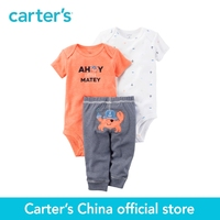 Carter S 3pcs Baby Children Kids 3 Piece Neon Little Character Set 126G596 Sold By Carter